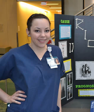 college-girl-in-scrubs-at-class-display