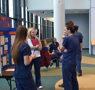 group-of-nursing-students-talking-at-school