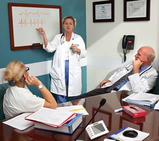 medical-presentation-in-office