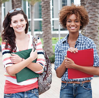 two-female-college-students-on-campus