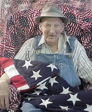 elderly-man-with-american-flag-99221