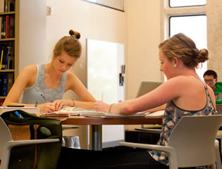 girl-college-students-working-in-study-room