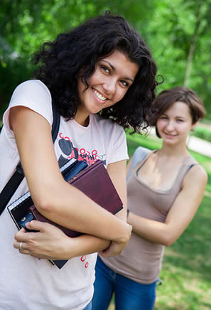 young-college-women
